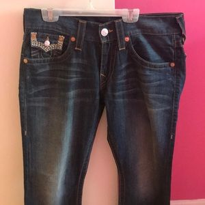 Men's True Religion jeans worn once